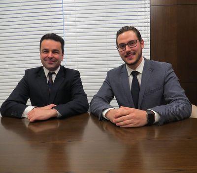Dr. Felipe Massignan e Dr. Filipe Fuzinatto